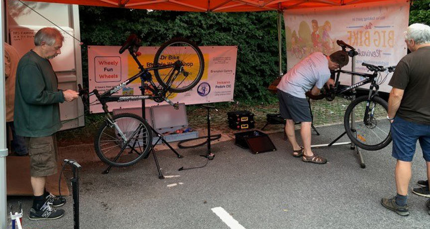 Cycle repair - Dr Bike Workshop in Chesterfield - Get on your bike in Chesterfield