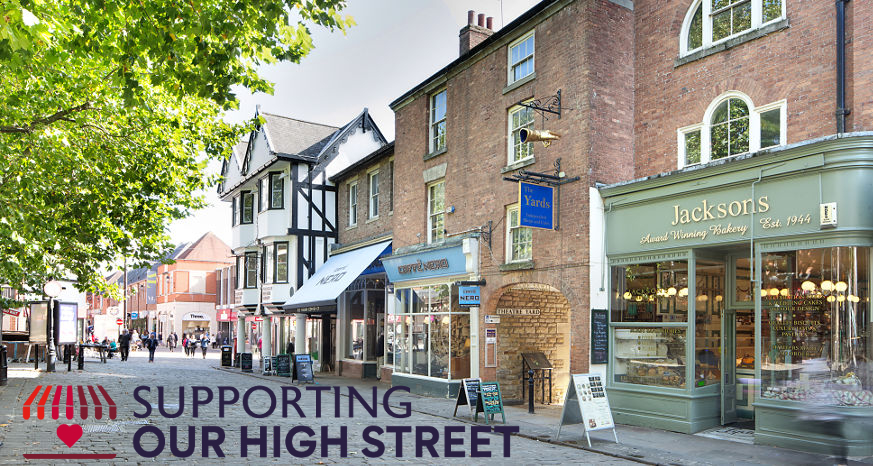 Supporting our high street
