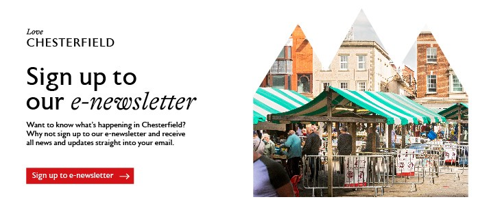 Love Chesterfield - Email Sign Up