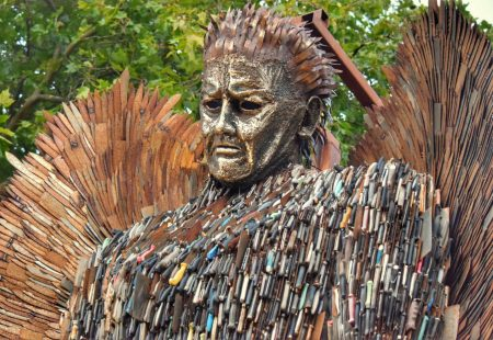 Knife Angel Chesterfield
